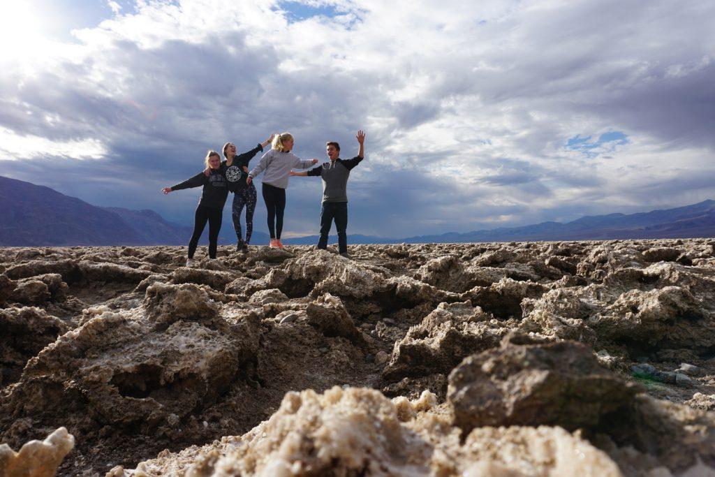 Death Valley mit au pair Freunden