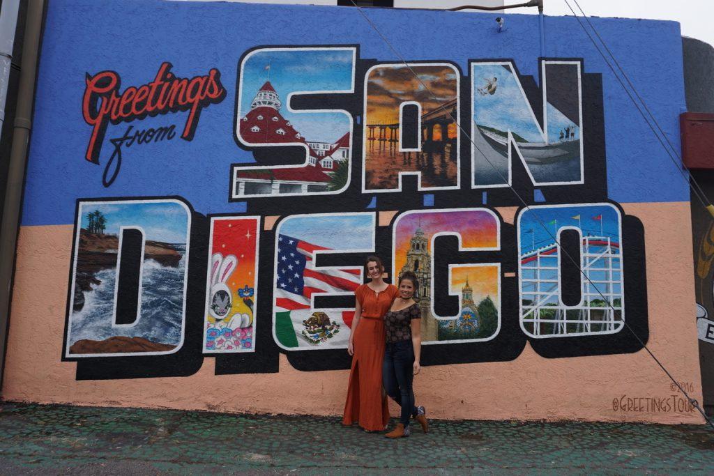 San Diego mit Suzanne